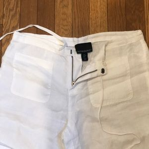 White linen pants - never worn